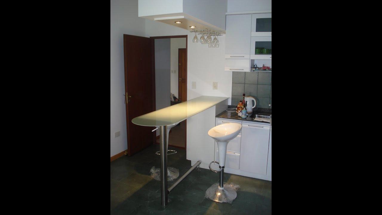 Desayunadores y barras separadores de ambientes fabrica for Como hacer una barra de cocina