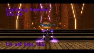 [Satele Shan] SWTOR Lightning Sorcerer - The pit, Shh i'm hiding.