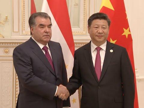 Chinese President Xi Meets Tajik Counterpart in Uzbekistan