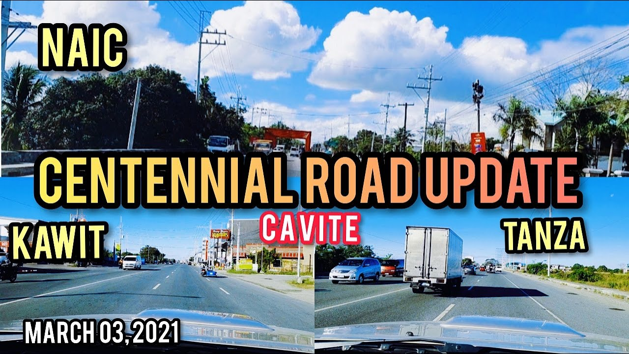 ROAD UPDATE! KAWIT-NAIC, CAVITE. SIGHTSEEING TOUR. MARCH 03, 2021. PHILIPPINES.