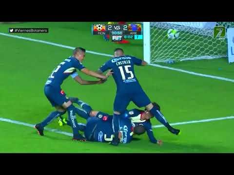 Gol de F. Córdova | Morelia 2 - 2 América | LIGA Bancomer MX - Clausura 2019 - Jornada 9