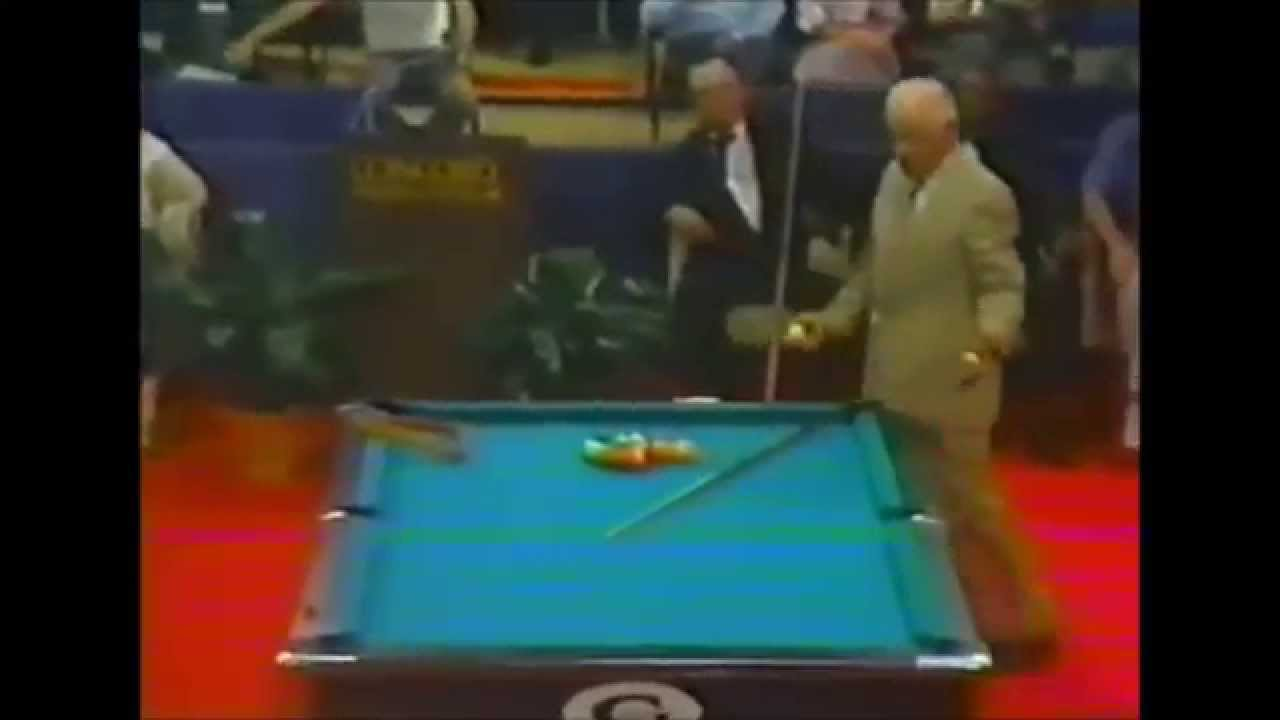 Minnesota Fats Vs Willie Mosconi Legendary Match YouTube - Mosconi pool table
