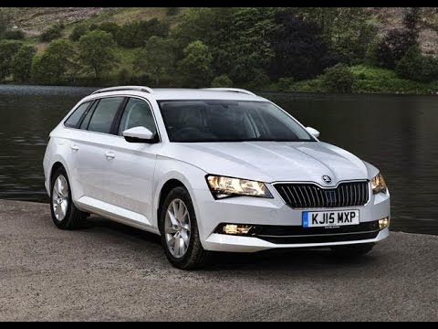 skoda superb estate 2015 car review youtube. Black Bedroom Furniture Sets. Home Design Ideas