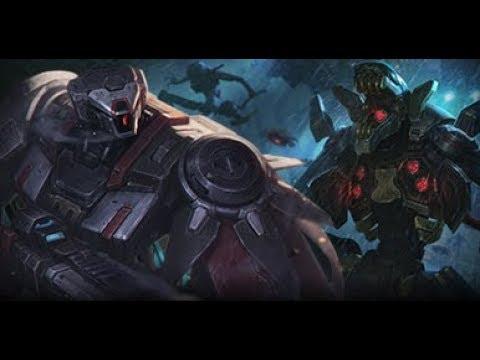 英雄聯盟 造型重鑄 禁衛軍甲 狂暴來襲造型重鑄 - YouTube