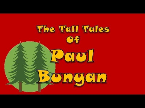 Tall Tales of Paul Bunyan as read by Rick Busciglio