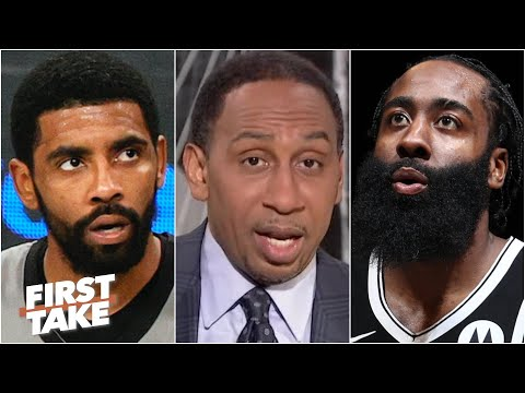 Stephen A.: The Nets are going to the NBA Finals with or WITHOUT Kyrie Irving | First Take