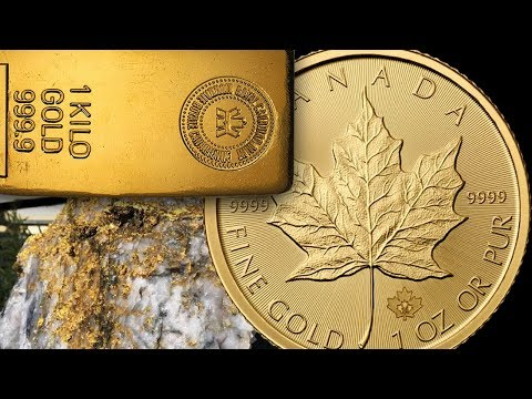 Canadian Gold Mine Company Production UP 199% Gold Holds On!