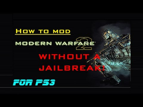 NEW VERSION! How To Mod MW2 Without A Jailbreak (PS3)
