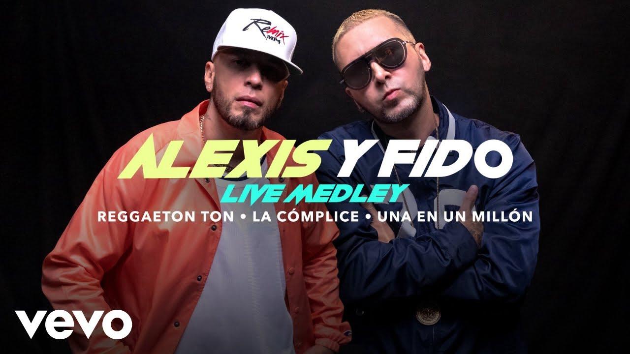 Alexis y Fido - Reggaeton Ton/La Cómplice/Una en un Millón Live Performance