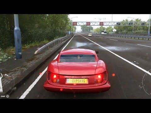 Forza Horizon 4 - TVR Cerbera Speed 12 1998 - Open World Free Roam Gameplay (HD) [1080p60FPS] - 동영상