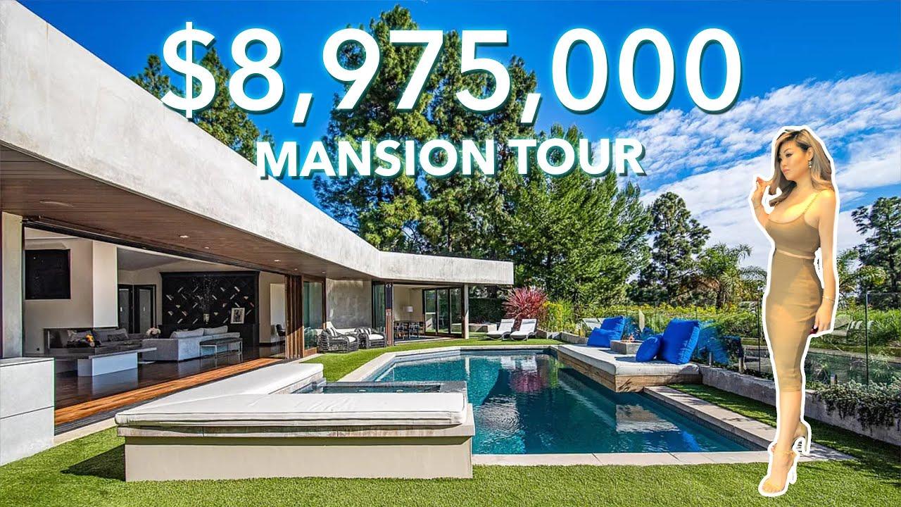 ZEN $8,975,000 MANSION TOUR   Beverly Hills