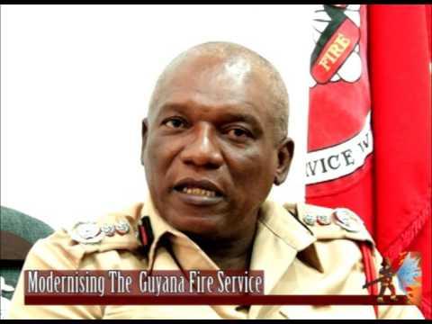 Modernizing The Guyana Fire Service