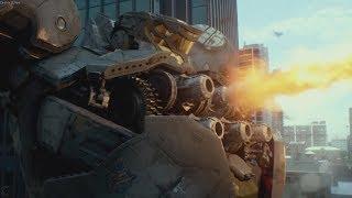 Striker Eureka vs Mutavore ¦ Pacific Rim 2013 Movie CLIP HD +Subtitles