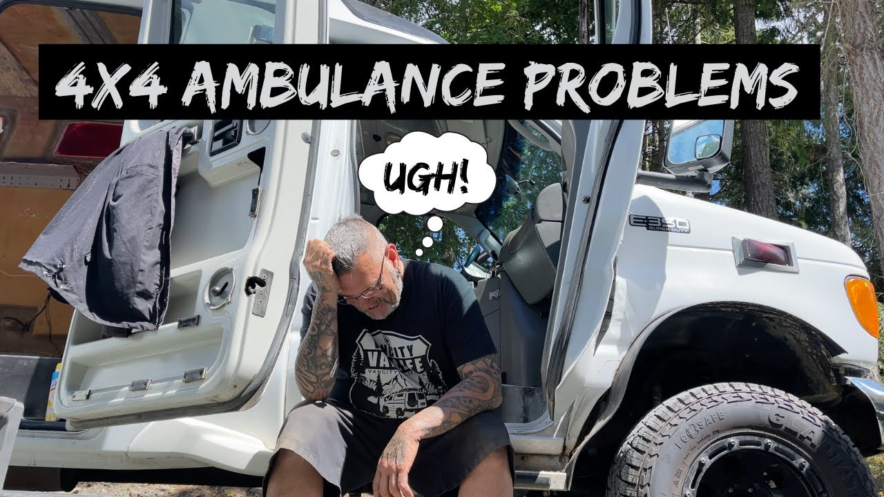 """4x4 AMBULANCE """"Strip Down"""" This Project Just Keeps Getting BIGGER"""