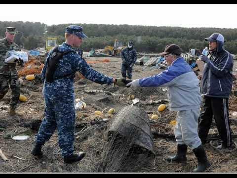 「Operation Tomodachi 」~友達作戦 米軍による救援活動~ Japan earthquake 3.11