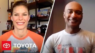 homepage tile video photo for Jamie Little Interview with NHRA Racing Champion Antron Brown | Toyota