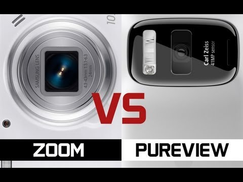 Samsung Galaxy S4 Zoom vs Nokia 808 PureView