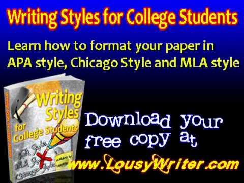 How to write turabian style
