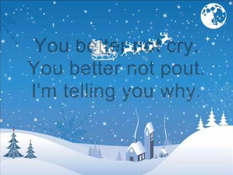 Michael Bublé - Santa Claus is coming to town / Lyrics