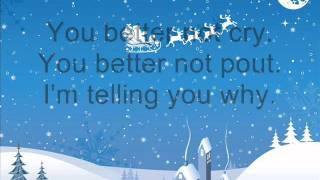 Michael Bublé - Santa Claus is coming to town / Lyrics