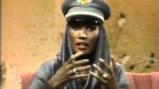 Grace Jones - The Joan Rivers Show