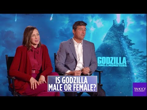 The cast of &39;Godzilla&39; discuss if the monster is male or female