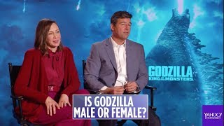 Baixar The cast of 'Godzilla' discuss if the monster is male or female