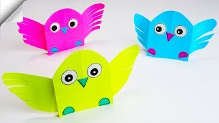 DIY paper toys | Easy paper birds