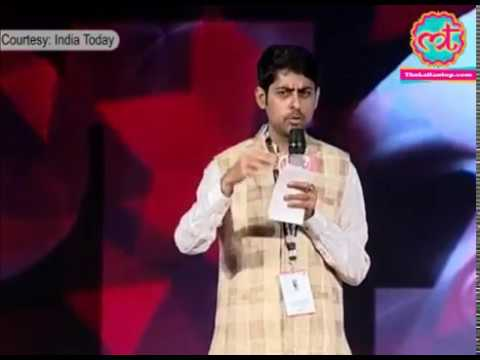 Commedian/Script Writter Varun Grover at India Today conclave 2016 | The Lallantop