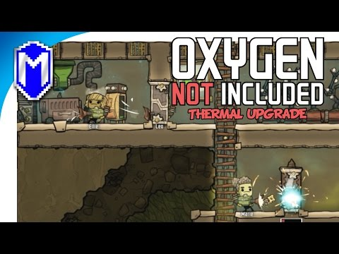The Fertilizer Maker And The Geyser - Oxygen Not Included Thermal Upgrade Preview Gameplay Part 3