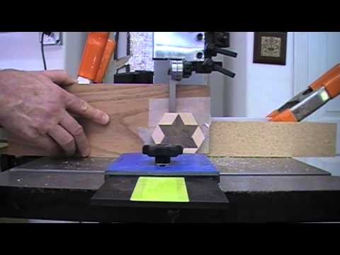 Woodworking - Safely Cutting Thin Veneer on the Band Saw
