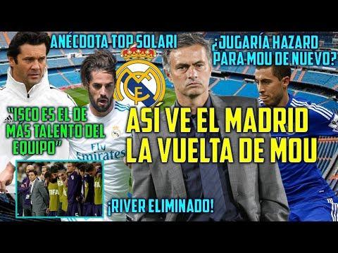 MADRID REACCIONA A MOURINHO | ¿FICHARÍA HAZARD CON MOU? | SOLARI ADVIERTE KASHIMA | RIVER OUT