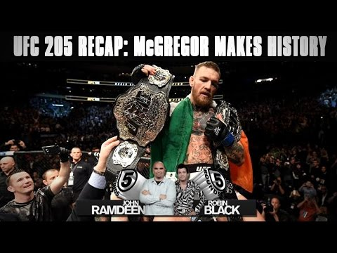 UFC 205 Recap: McGregor Victorious, Woodley-Thompson Draw on 5 Rounds - Full Show