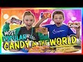 BEST CANDY IN THE WORLD! | TASTE TEST | We Are The Davises