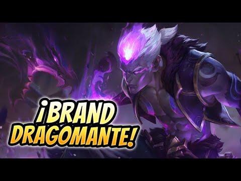 🔥 ¡ASÍ ES LA NUEVA SKIN DRAGOMANTE DE BRAND EN PARTIDA! 🔥 Eternal Dragon Brand Gameplay Español