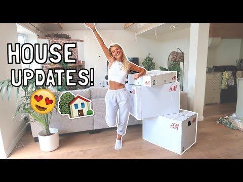 HOUSE UPDATE: NEW FURNITURE & DECORATE WITH ME!