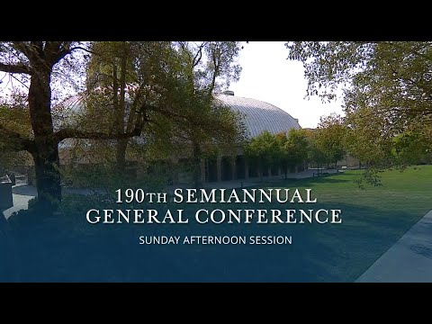October 2020 General Conference | Sunday Afternoon Session