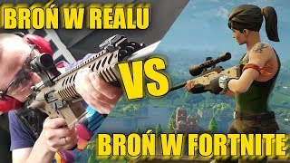 Fortnite Guns VS Real-Weapon comparaison