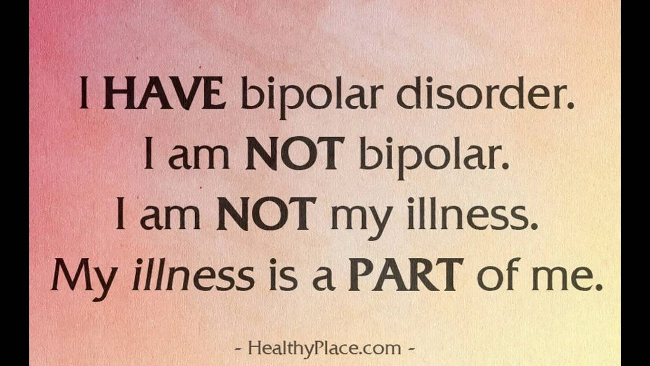 Bipolar Quotes Impressive Quotes On Bipolar Disorder  Youtube