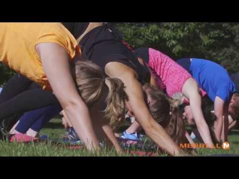 Merrell: Nature's Gym Yoga