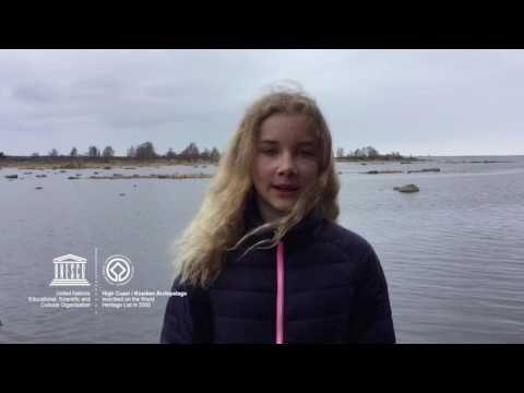Linn #MyOceanPledge High Coast / Kvarken Archipelago World Heritage marine site