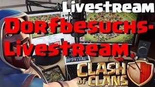 [514]🔴Dorfbesuchs Livestream Facecam für die Community |  Clash of Clans Deutsch COC thumbnail