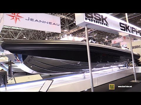 2018 Skipper NC10 Inflatable Boat - Walkaround - 2018 Boot Dusseldorf Boat Show