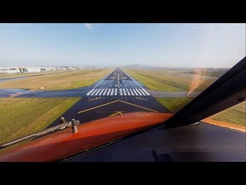 Approach & Landing @ Cape Town International Airport