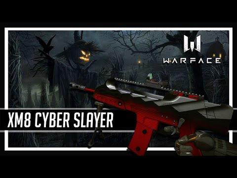 Warface Halloween CYBER SLAYER XM8 COMPACT