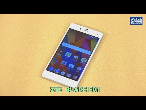 法林岳之のケータイしようぜ!!   ZTE「BLADE E01」