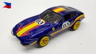 TAGALOG 🇵🇭 Ferrari 365 GTB4 Hot Wheels Review