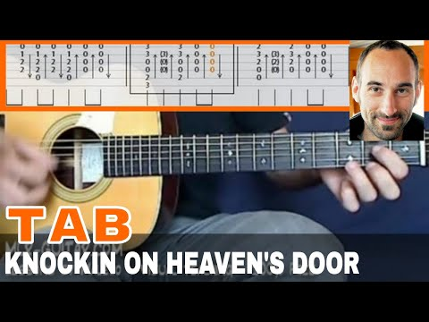 "Guitar Cover / Tab ""Knockin' On Heaven's Door"" By MLR-Guitar"