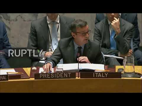 UN: Russia vetoes another proposal to renew Syria gas probe