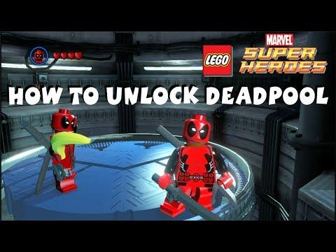 How to Unlock Deadpool - Lego Marvel Super Heroes 720P HD